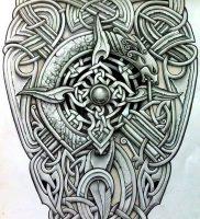 фото тату кельтские узоры от 23.11.2017 №012 — tattoo celtic patterns — tattoo-photo.ru