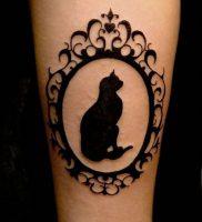 фото тату кошка от 19.11.2017 №002 — cat tattoo — tattoo-photo.ru