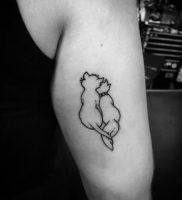 фото тату кошка от 19.11.2017 №015 — cat tattoo — tattoo-photo.ru