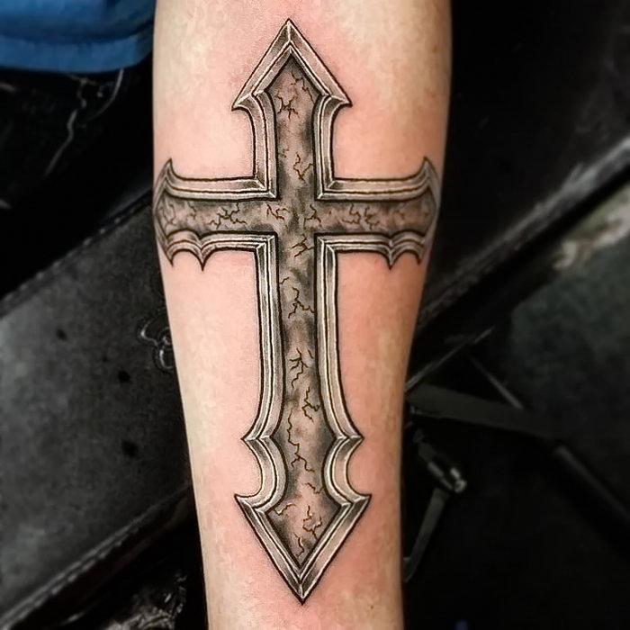 греческий крест тату фото этот по-настоящему сказочный