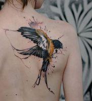 фото тату ласточка от 18.11.2017 №004 — tattoo swallow — tattoo-photo.ru