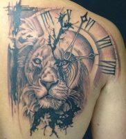 фото тату лев от 18.11.2017 №004 — tattoo lion — tattoo-photo.ru