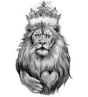фото тату лев от 18.11.2017 №012 — tattoo lion — tattoo-photo.ru