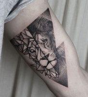 фото тату лев от 18.11.2017 №019 — tattoo lion — tattoo-photo.ru