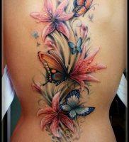 фото тату лилия от 19.11.2017 №012 — tattoo lily — tattoo-photo.ru