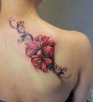 фото тату лилия от 19.11.2017 №018 — tattoo lily — tattoo-photo.ru