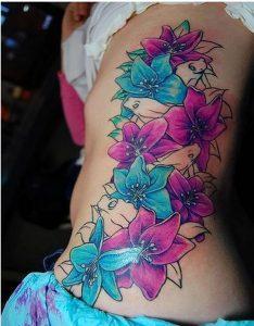 фото тату лилия от 19.11.2017 №076 - tattoo lily - tattoo-photo.ru