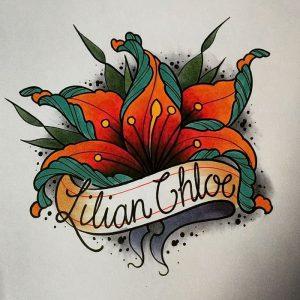 фото тату лилия от 19.11.2017 №093 - tattoo lily - tattoo-photo.ru