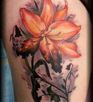 фото тату лилия от 19.11.2017 №131 — tattoo lily — tattoo-photo.ru