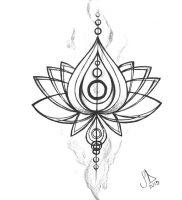 фото тату лотос от 19.11.2017 №001 — lotus tattoo — tattoo-photo.ru