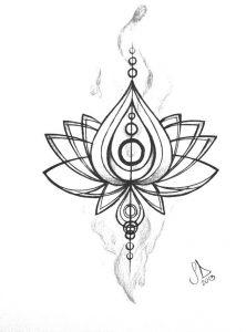 фото тату лотос от 19.11.2017 №001 - lotus tattoo - tattoo-photo.ru