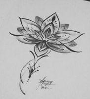 фото тату лотос от 19.11.2017 №008 — lotus tattoo — tattoo-photo.ru