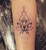 фото тату лотос от 19.11.2017 №013 — lotus tattoo — tattoo-photo.ru