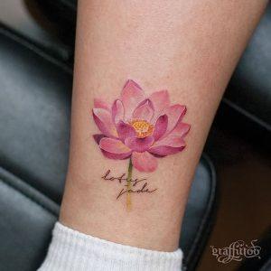 фото тату лотос от 19.11.2017 №050 - lotus tattoo - tattoo-photo.ru