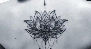 фото тату лотос от 19.11.2017 №082 - lotus tattoo - tattoo-photo.ru
