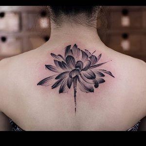 фото тату лотос от 19.11.2017 №083 - lotus tattoo - tattoo-photo.ru