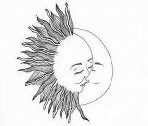 фото тату луна от 19.11.2017 №009 - tattoo moon - tattoo-photo.ru