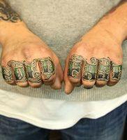 фото тату надпись от 16.11.2017 №004 — tattoo inscription — tattoo-photo.ru