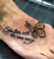 фото тату надпись от 16.11.2017 №014 — tattoo inscription — tattoo-photo.ru