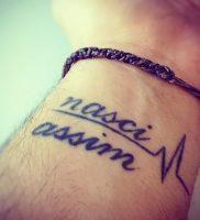 фото тату надпись от 16.11.2017 №018 — tattoo inscription — tattoo-photo.ru