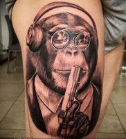 фото тату с животными от 14.11.2017 №003 — animal tattoos — tattoo-photo.ru