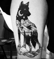 фото тату с животными от 14.11.2017 №006 — animal tattoos — tattoo-photo.ru