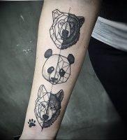 фото тату с животными от 14.11.2017 №007 — animal tattoos — tattoo-photo.ru