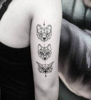фото тату с животными от 14.11.2017 №015 — animal tattoos — tattoo-photo.ru