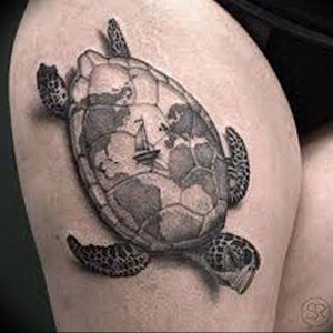 фото тату с животными от 14.11.2017 №045 - animal tattoos - tattoo-photo.ru
