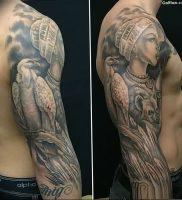 фото тату с животными от 14.11.2017 №065 — animal tattoos — tattoo-photo.ru
