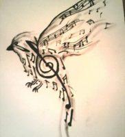 фото тату с нотами от 16.11.2017 №004 — tattoo with notes — tattoo-photo.ru