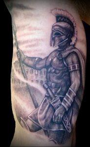 Гладиатор в татуировке для статьи про значение рисунка - 2