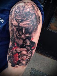 Гладиатор в татуировке для статьи про значение рисунка - 6