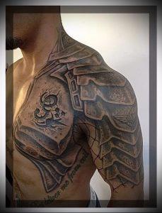 Гладиатор в татуировке для статьи про значение рисунка - 9