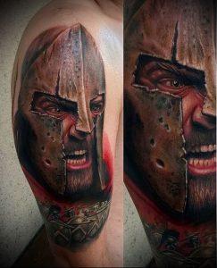 Гладиатор в татуировке для статьи про значение рисунка - 14