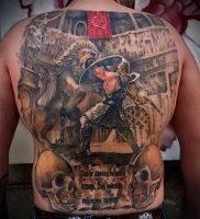 Гладиатор в татуировке для статьи про значение рисунка — 28
