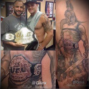 Гладиатор в татуировке для статьи про значение рисунка - 43