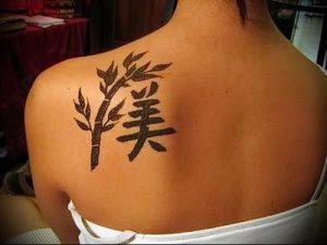 фото тату китайские иероглифы для статьи про значение татуировок - 1