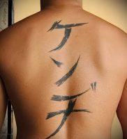 фото тату китайские иероглифы для статьи про значение татуировок — 5