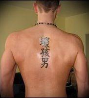 фото тату китайские иероглифы для статьи про значение татуировок — 24