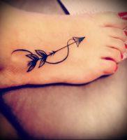 фото тату стрелец для статьи про значение символа в татуировке — 24