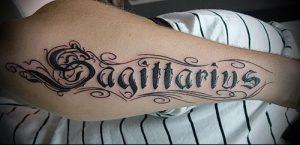 фото тату стрелец для статьи про значение символа в татуировке - 35