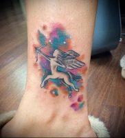 фото тату стрелец для статьи про значение символа в татуировке — 37