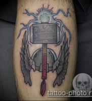 фото татуировки молот — значение — пример интересного рисунка тату — 011 tatufoto.com