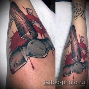фото татуировки молот - значение - пример интересного рисунка тату - 012 tatufoto.com