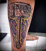 фото татуировки молот — значение — пример интересного рисунка тату — 018 tatufoto.com