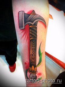 фото татуировки молот - значение - пример интересного рисунка тату - 025 tatufoto.com