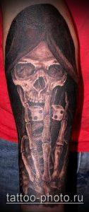 фото тату демон - значение - пример интересного рисунка тату - 008 tattoo-photo.ru