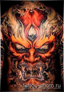 фото тату демон - значение - пример интересного рисунка тату - 013 tattoo-photo.ru