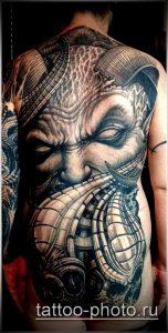 фото тату демон - значение - пример интересного рисунка тату - 015 tattoo-photo.ru